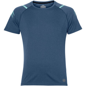 asics Icon SS Top Herren dark blue heather